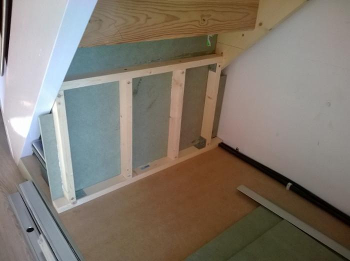 Am nagement sous escalier ba13 medium fermacell 27 messages - Construire une verriere en bois ...