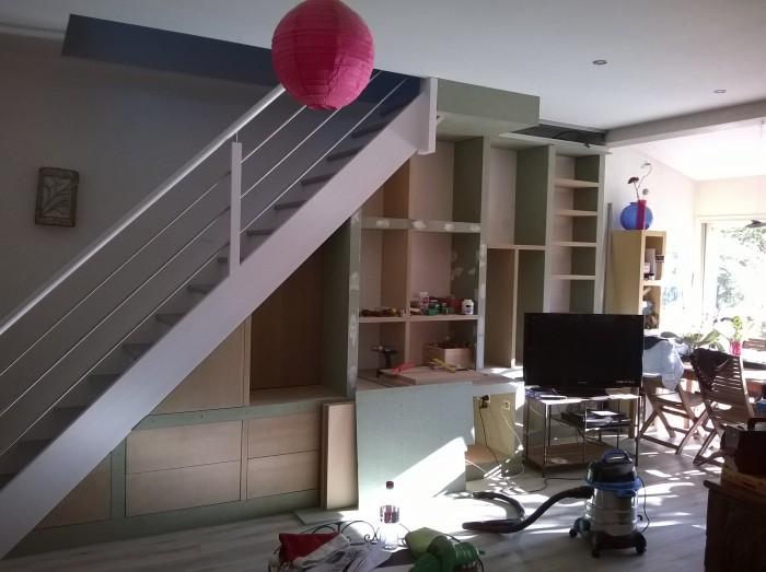 Am Nagement Sous L 39 Escalier De Penrose Chez Nous Enfin Presque